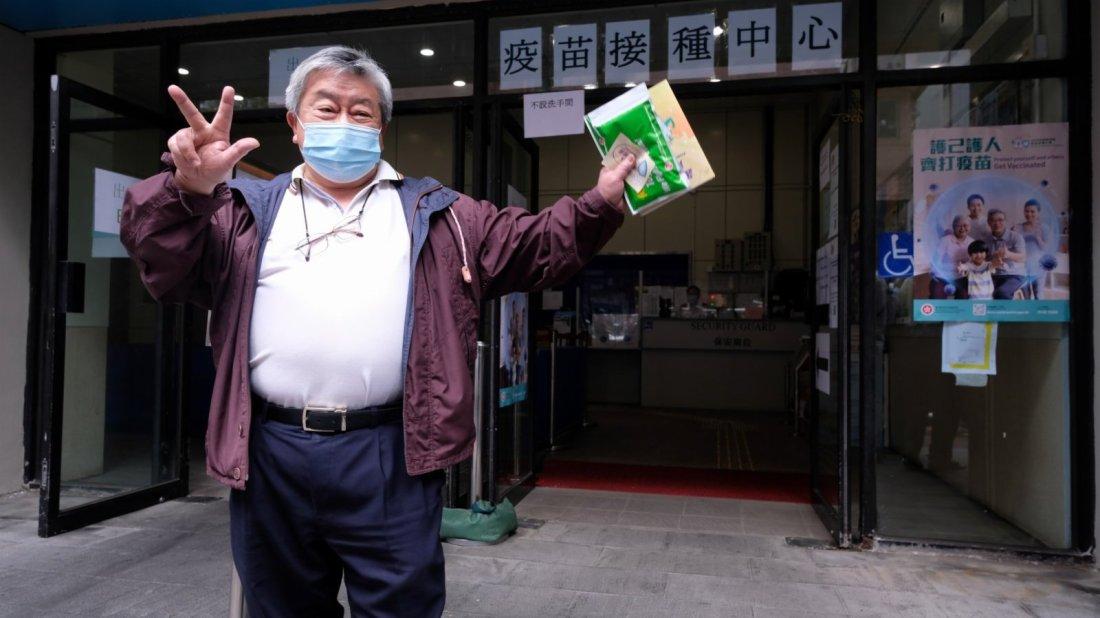 5間接種中心運作順暢 市民反應踴躍