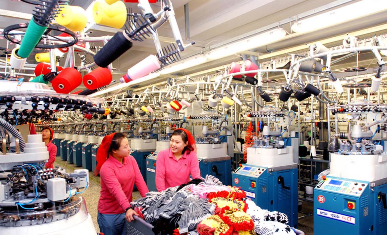 始建於1962年的平壤制襪廠,發展至今的自動化水準已較高。