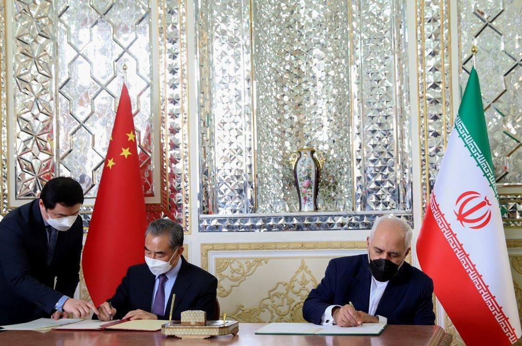 中國伊朗簽署25年戰略合作協議