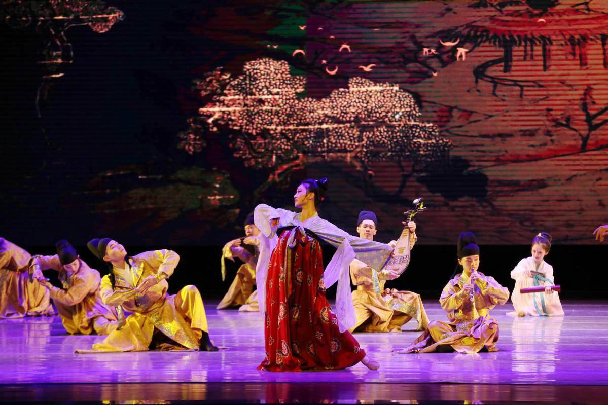 舞蹈表現了盛唐時期開放包容和民族交融的藝術特徵。(受訪者供圖)