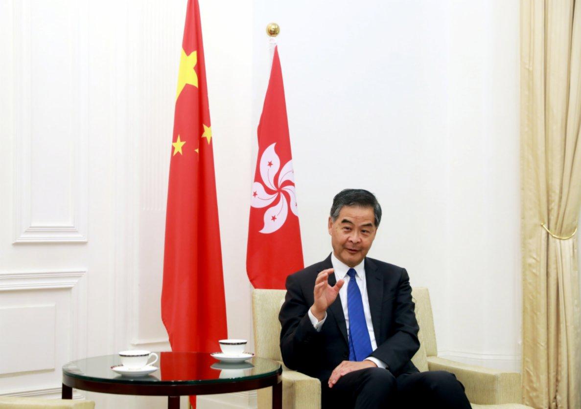 梁振英:未來5年是香港黃金機遇期