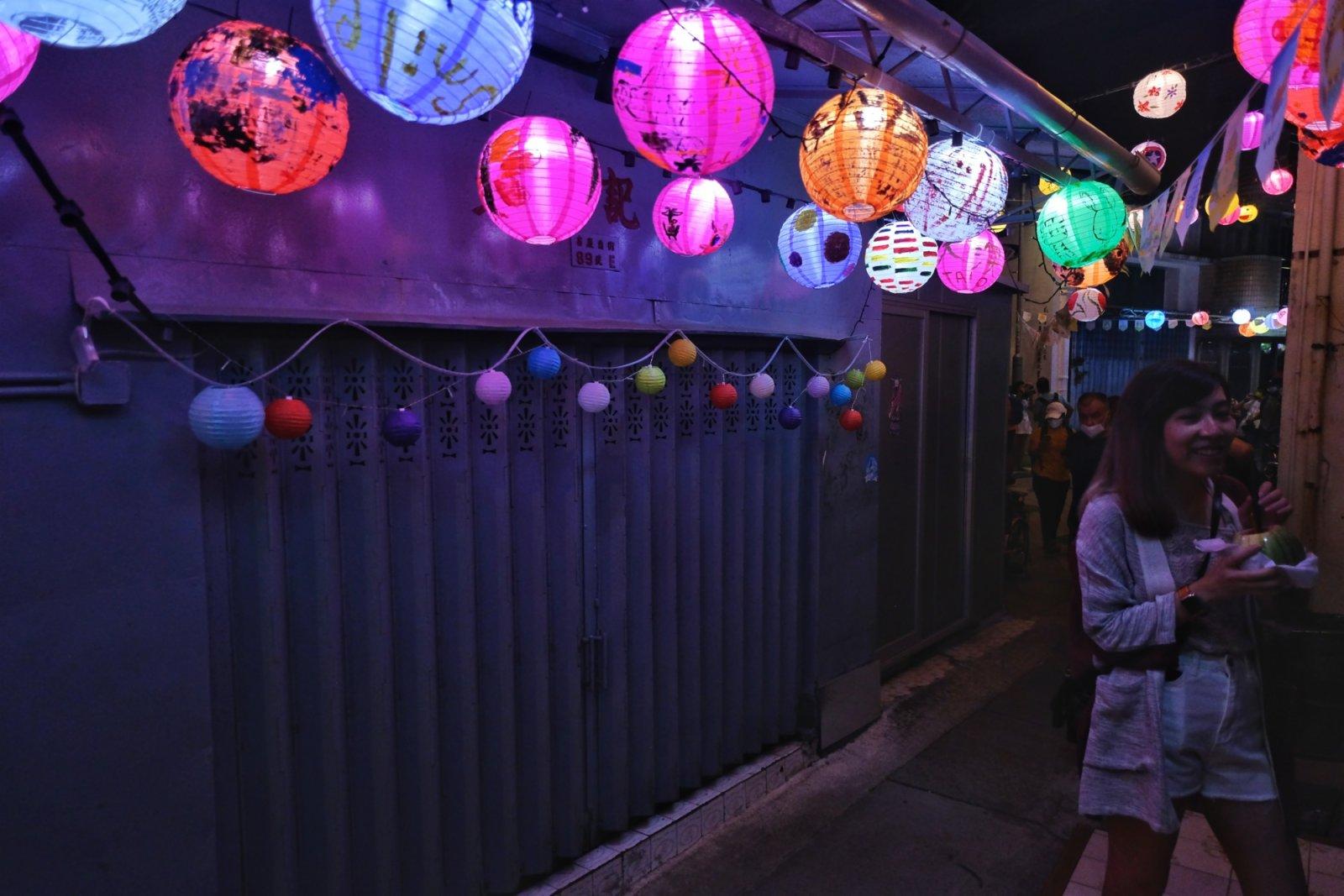 今屆花燈節會亮燈至月底。(大公文匯全媒體記者 麥鈞傑 攝)