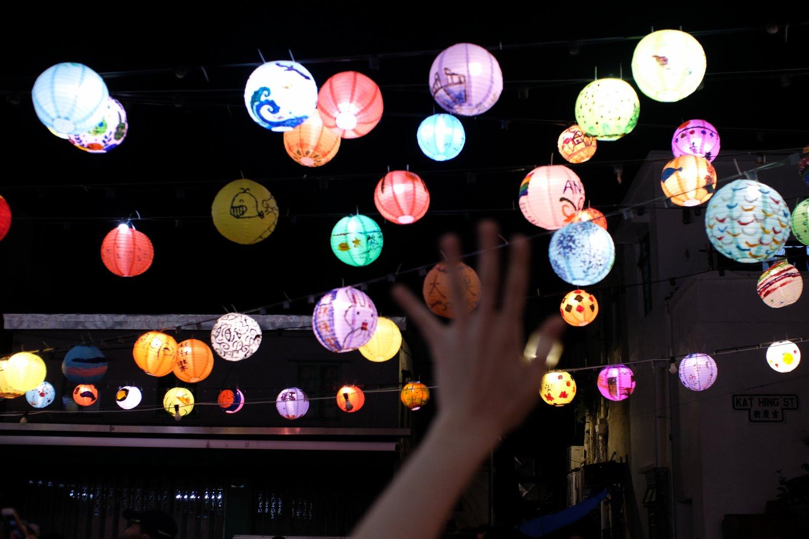 今屆有近3000盞花燈。(大公文匯全媒體記者 麥鈞傑 攝)