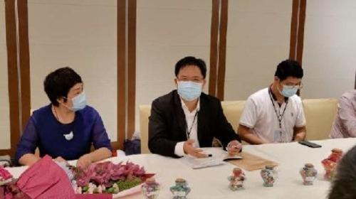 廣西核酸檢測隊與香港市民團體見面