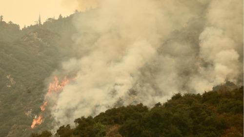 圖集 美國加州山火持續燃燒