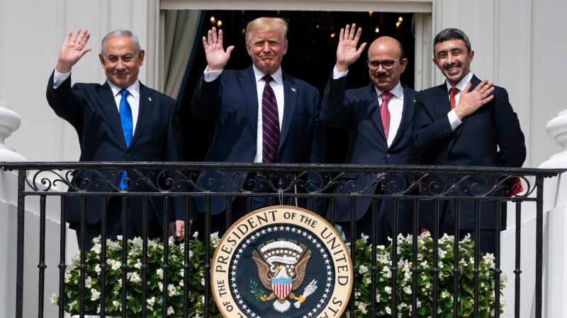 以色列與阿聯酋和巴林在白宮簽署關係正常化協議