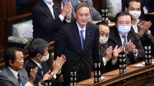 圖集 菅義偉當選日本第99任首相