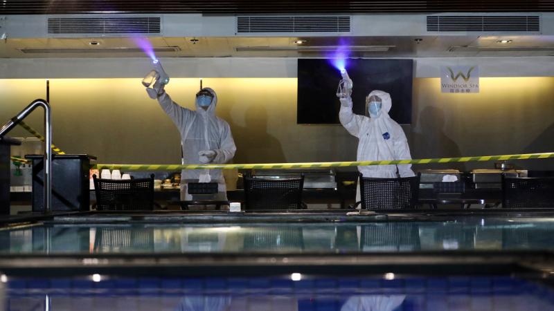 浴室明復業 業界採取防疫措施迎接開放