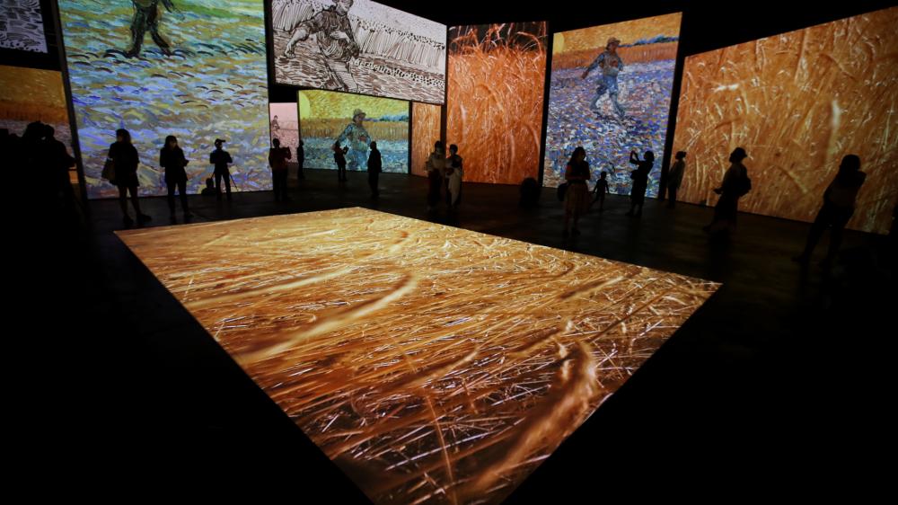 梵高沉浸式畫展在悉尼開幕