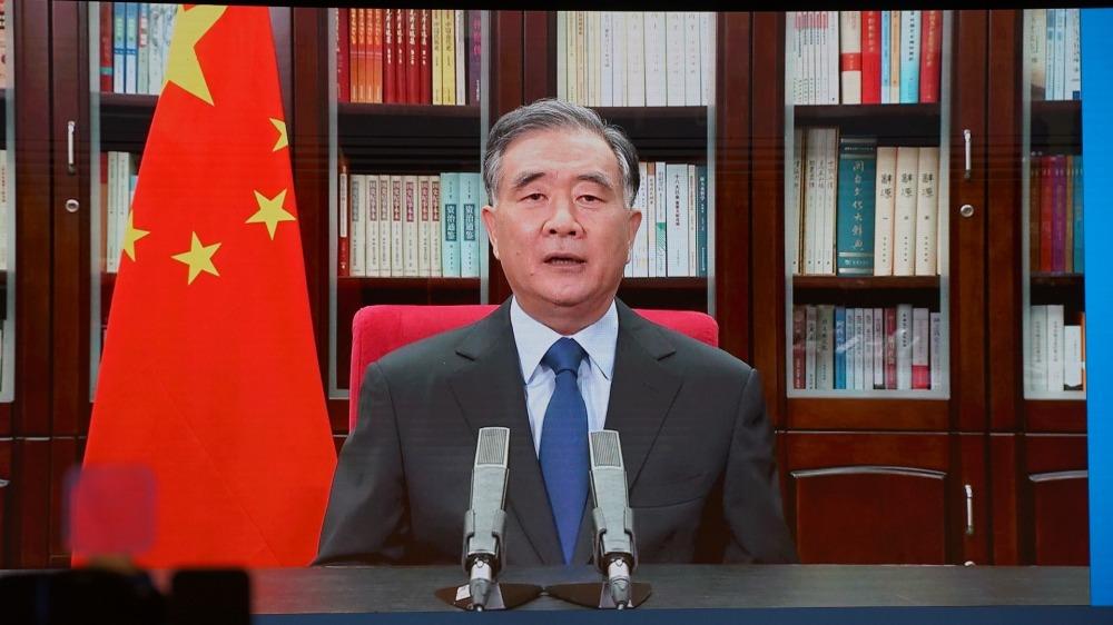 汪洋: 中華民族偉大復興台胞不應缺席