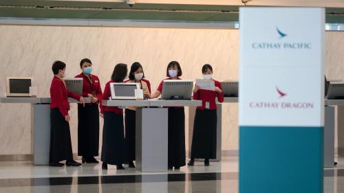 國泰機場貴賓室被炒逾60人 疑為裁員鋪路