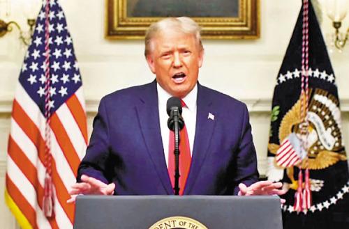 特朗普聯大演說  再抹黑中國「瞞疫」