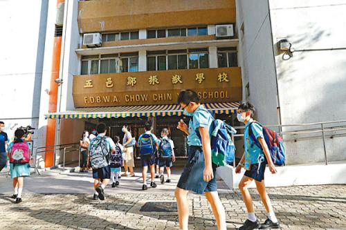 「確診校」近四成學生留家學習