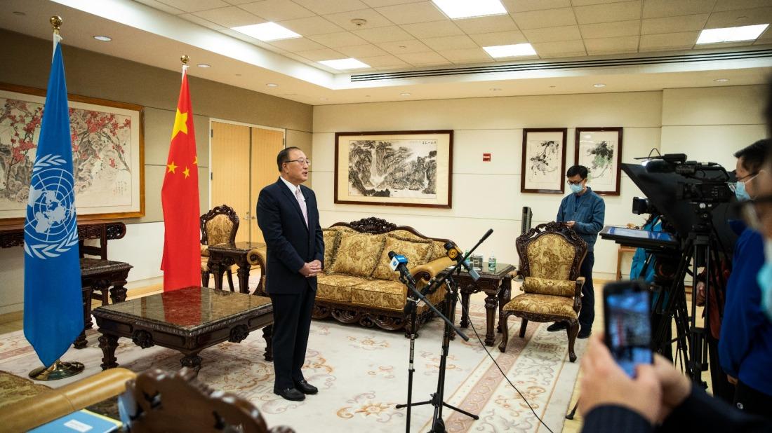 中國代表在安理會嚴厲駁斥美惡意攻擊