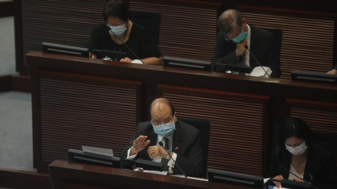 張建宗:財赤嚴峻 防疫基金須補漏拾遺
