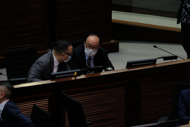 馬逢國當選立法會內委會副主席。大公文匯全媒體記者 攝