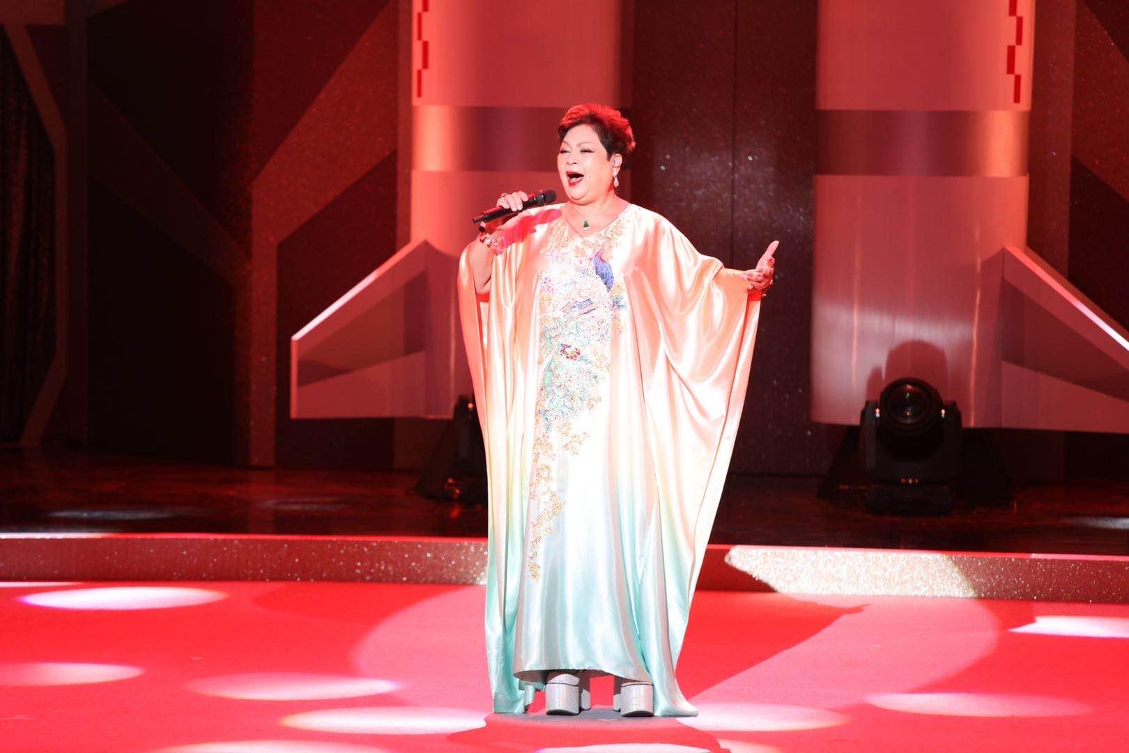Maria Cordero(肥媽)、胡定欣、葉振棠等歌手及團體獻唱。(大公文匯全媒體記者攝)