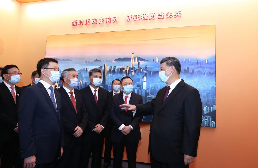 深圳特區40周年慶祝大會舉行 習近平發表重要講話