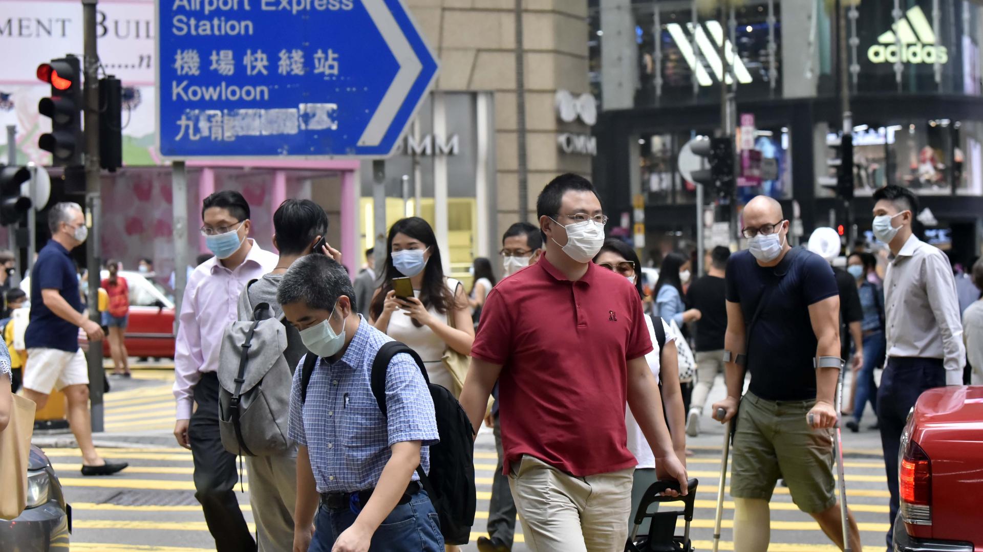 香港今日新增約17宗確診
