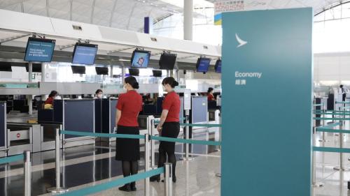 國泰大裁員 機場櫃位九成五關閉