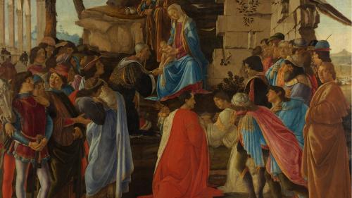 「波提切利與他的非凡時空」畫展