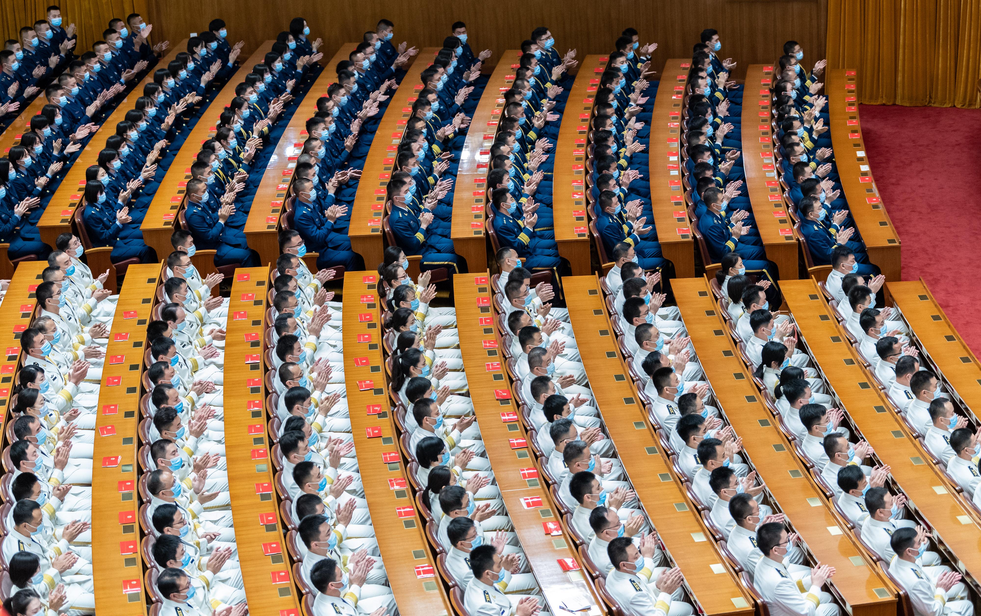 紀念中國人民志願軍抗美援朝出國作戰70周年大會於23日上午10時在北京人民大會堂隆重舉行。(新華網)