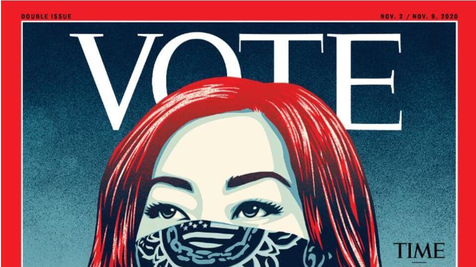 呼籲選民投票 《時代》周刊首度「改名」