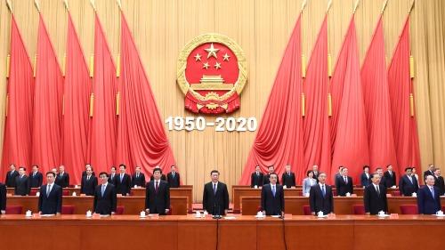 中國無懼霸權威脅  堅決捍衛國家利益