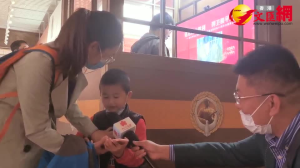 抗美援朝主題展|5歲孩童留言廳唱響「大中國」