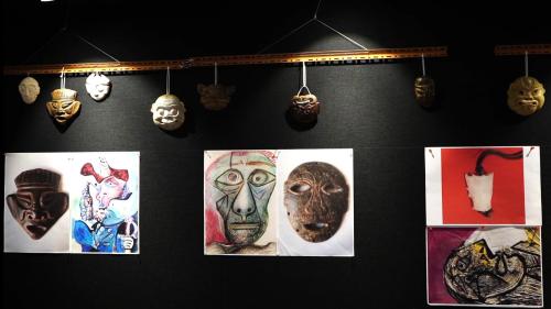 香港文化中心「史前面具文化展 」