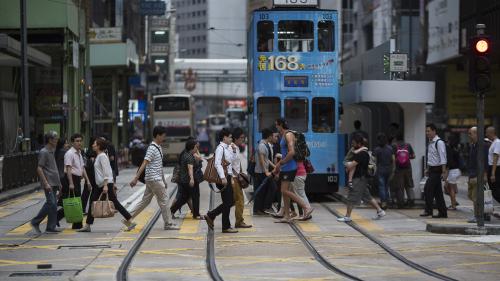 香港第3季經濟按年收縮3.4% 連續5季收縮