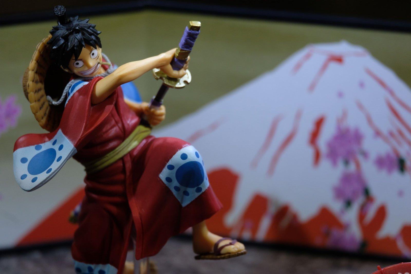 粉絲可步入日式小巷,欣賞一系列率先曝光的《One Piece》和之國篇章造型Figuarts ZERO Figure.