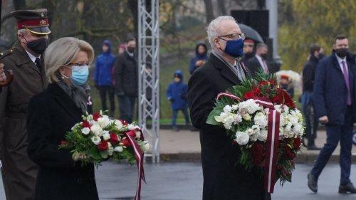拉脫維亞慶祝獨立102周年