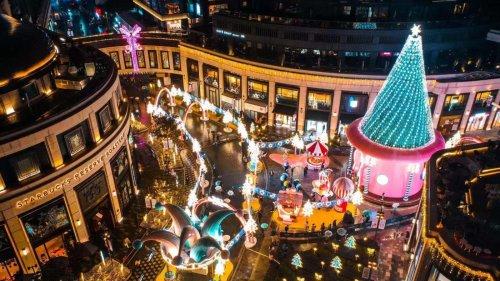 港商擁抱雙循環 扮美上海冬日