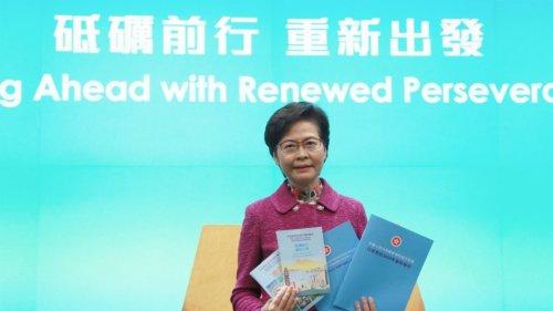 香港友好協進會:施政報告助香港再展活力