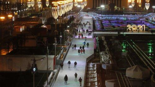 莫斯科:冰場開放