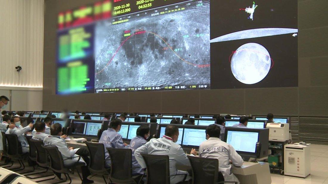 嫦娥五號探測器將擇機實施月面軟着陸