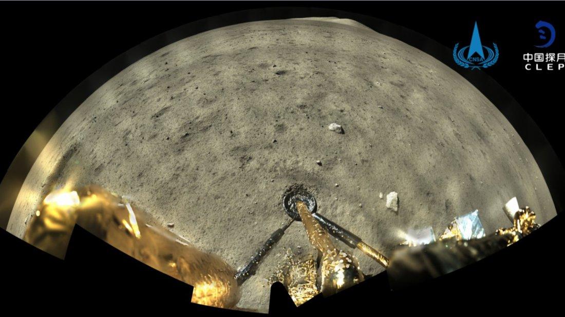 嫦娥五號送月壤返航 實現中國首次地外天體起飛