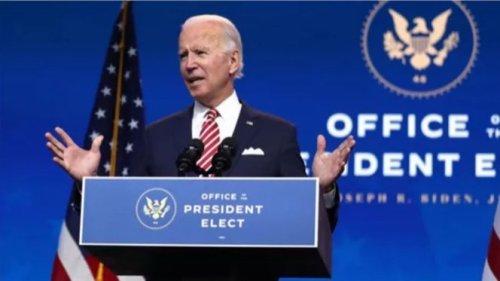 拜登將於下月20日宣誓就任美國總統