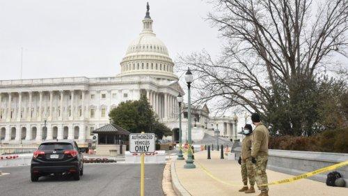 美國會騷亂後 國會大廈加強安保