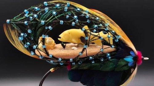波蘭琥珀「漂洋過海」亮相雲南省博物館
