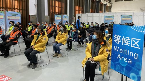 香港文匯網記者實地探訪北京疫苗接種點