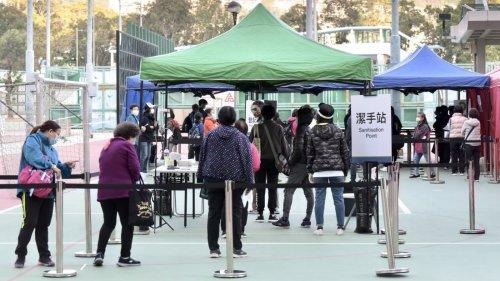 香港新增確診個案相隔1個月再「破百」