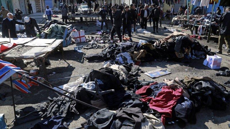 伊拉克首都巴格達發生自殺式爆炸 已致上百人傷亡