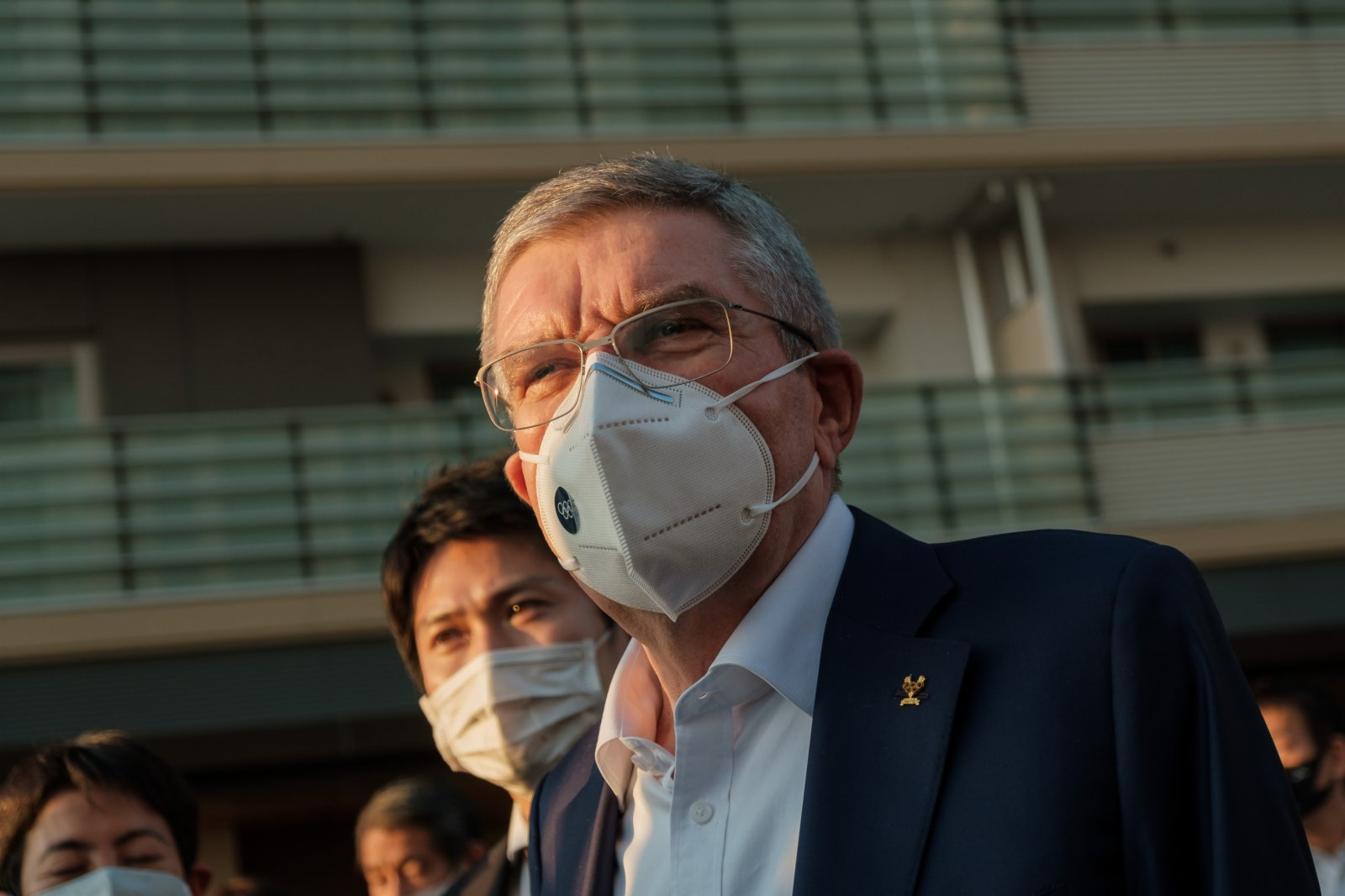 IOC president says he is confident that the Tokyo Olympics will be held in July
