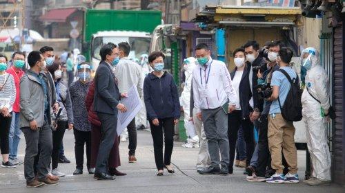 林鄭月娥:政府將完善「封區抗疫」 認真研究公布時間