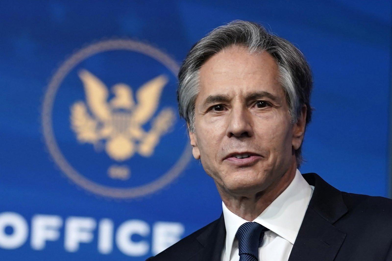 The U.S. Senate approved brinken as secretary of state