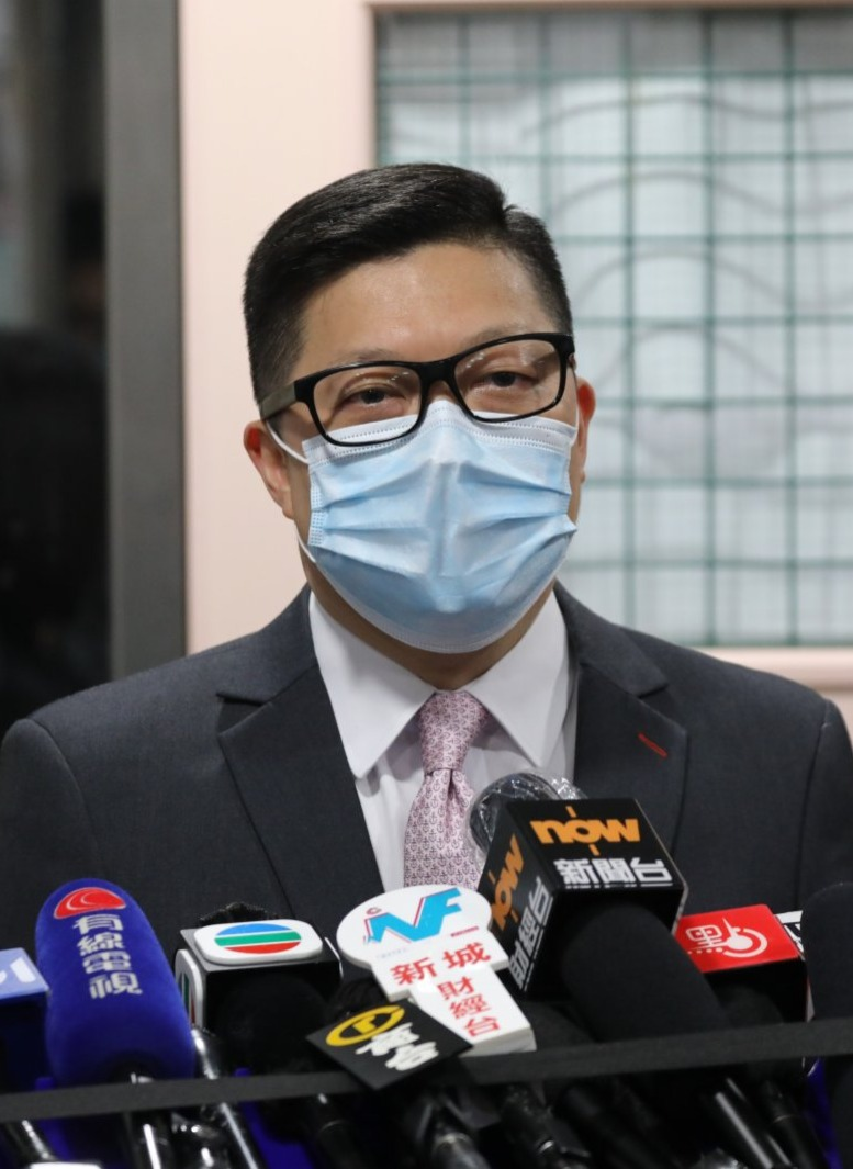 鄧炳強:國安法實施至今97人被捕