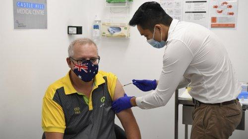 澳洲啟動新冠疫苗接種 莫里森首日接種