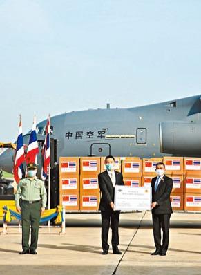 中國軍隊已供50國軍隊防疫物資